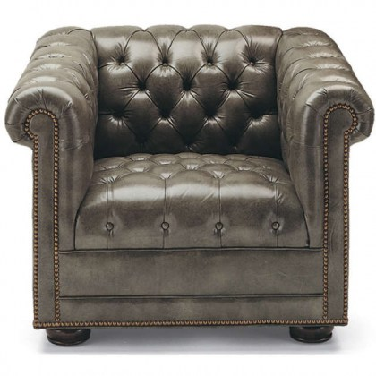 Chesterfield Leather Chair