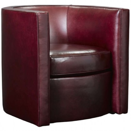 Dyana Leather Swivel Chair