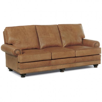 Bon Air Leather Loveseat