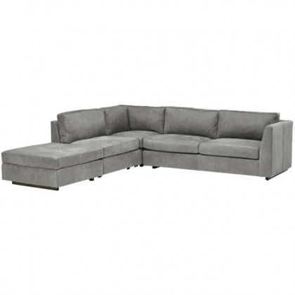 Rockies Leather Sectional