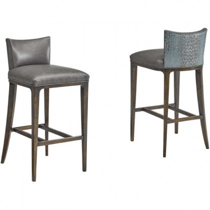 Charlie Leather Bar Stool