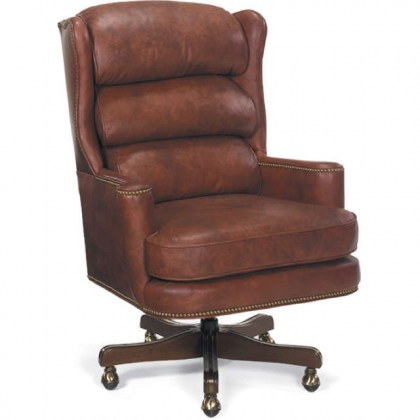 Carroll Leather Swivel Tilt Executive Chair