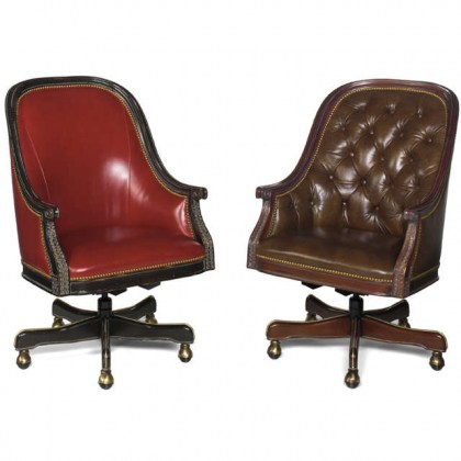 Claremont Leather Office Chair