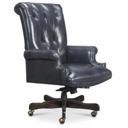 Dolphin Leather Office Chair