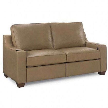 O'Reilly Leather Power Reclining Short Sofa