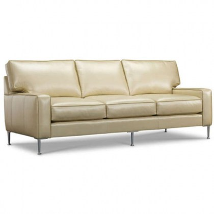 Rex Leather Sofa - Modern Sofa