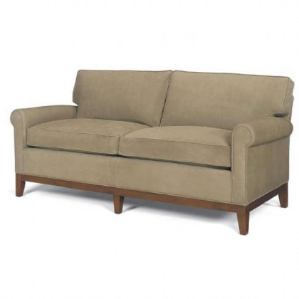 Brennan Leather Two Cushion Sofa