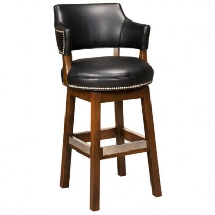 Bellagio Leather Bar Stool