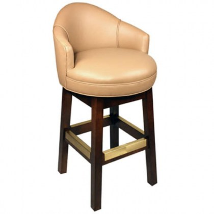 Antiquity Leather Bar Stool