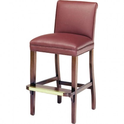 Yorkshire Leather Bar Stool