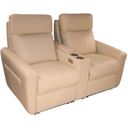 Venus Leather Power Reclining Home Theater Seating