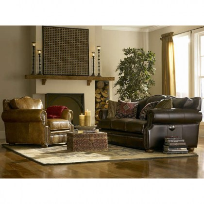 Laredo Leather Sofa Sleeper