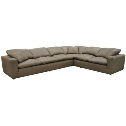 Allusion Leather Sectional