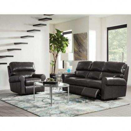 Brookfield Leather Swivel Glider Recliner