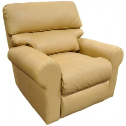 Brookhaven Leather Swivel Glider Recliner