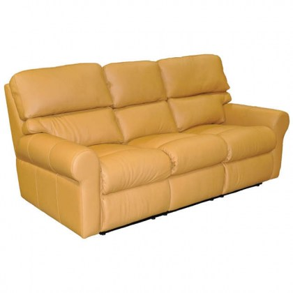 Brookhave Leather Reclining Sofa