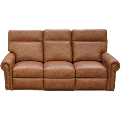 Campbell Leather Sleeper Sofa
