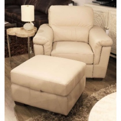 Capriana Leather Chair - In Stock