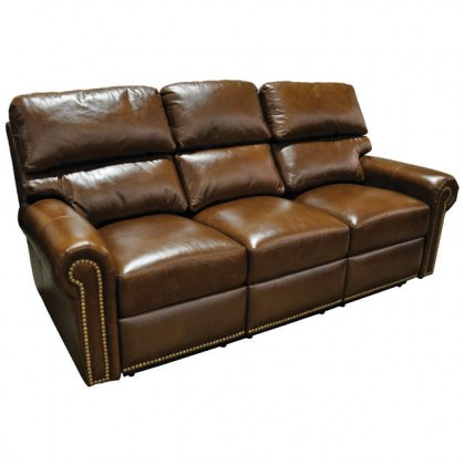 Carlton Leather Reclining Sofa