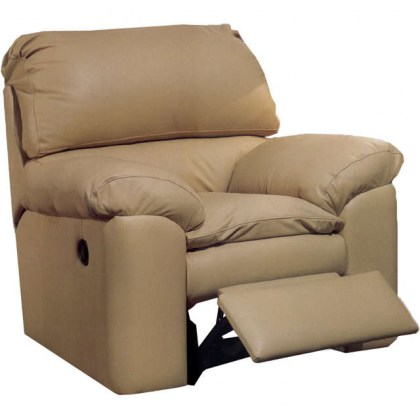Catera Leather Swivel Glider Recliner