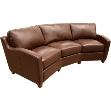 Chelsea Deco Leather Conversation Sofa