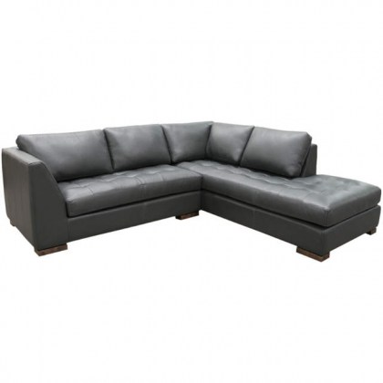 City View Leather Sectional