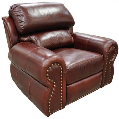 Cordova Leather Swivel Glider Recliner