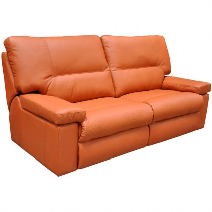 Dover Leather Reclining Sofa