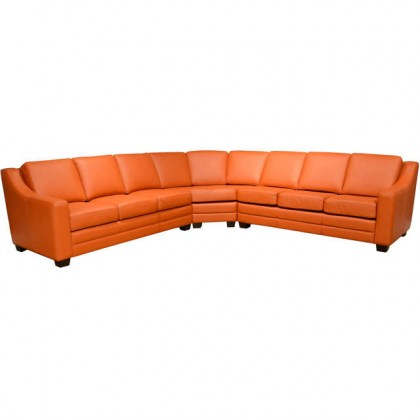 Dreamer Leather Sofa Sleeper Sectional