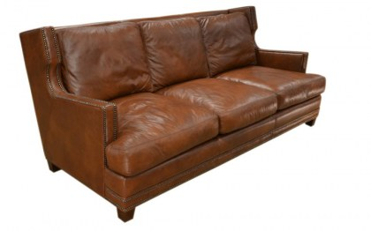 Dunhill Leather Sofa