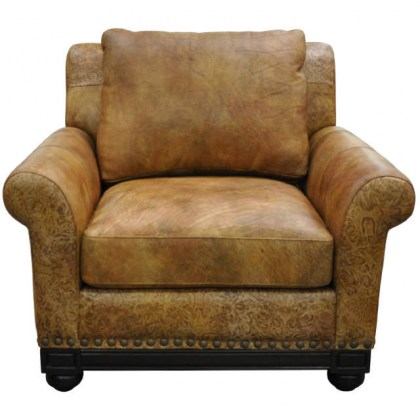 Echo Leather Chair and Ottoman