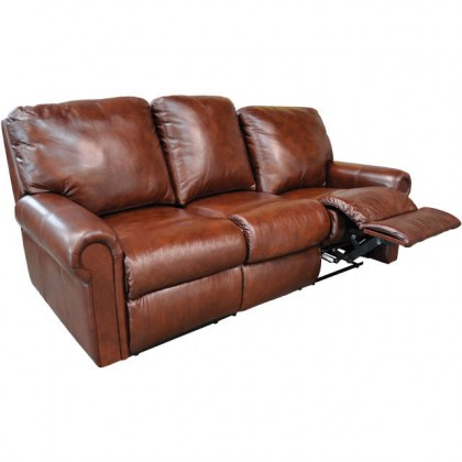 Fairfax Leather Reclining Sofa