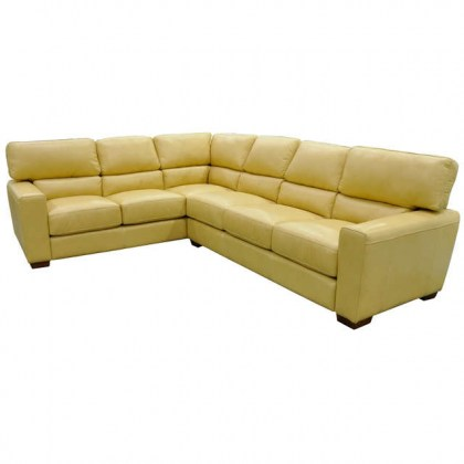 Jacob Leather Sectional