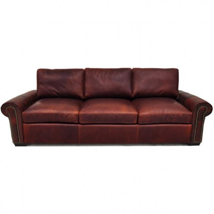 Jax 2 Leather Sofa