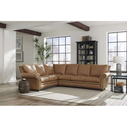 Kaymus Leather Sectional