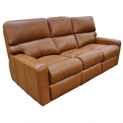 Larsen Leather Reclining Sofa
