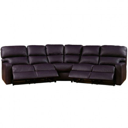 Larsen Leather Reclining Sectional