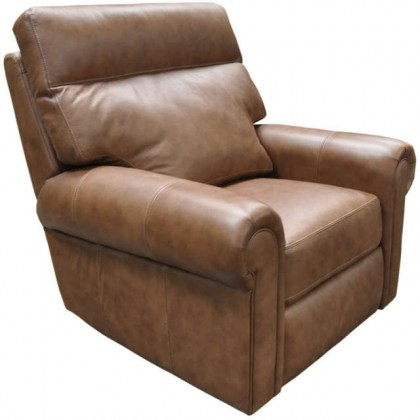 Logic Leather Swivel glider Recliner