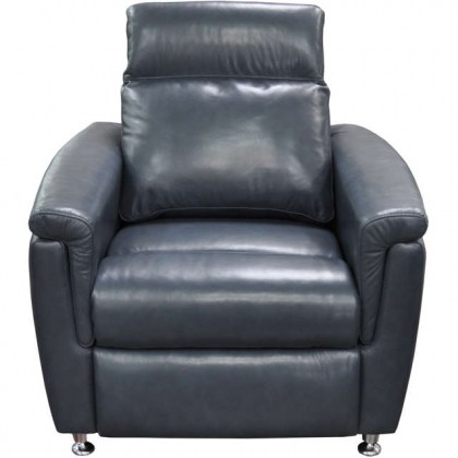 Luxtan Leather Power Recliner With Articulating Headrest
