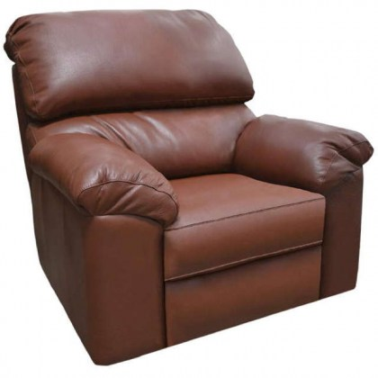 Marshall Leather Swivel Glider Recliner