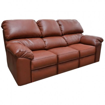 Marshall Leather Full Size Sofa Sleeper