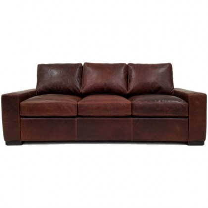 Max 3 Leather Sofa
