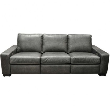 Maximo Leather Power Reclining Sofa