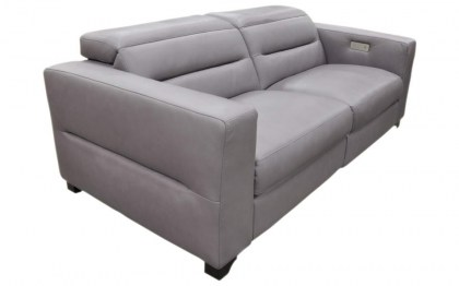 Bergamo Murano Leather Power Reclining Sofa