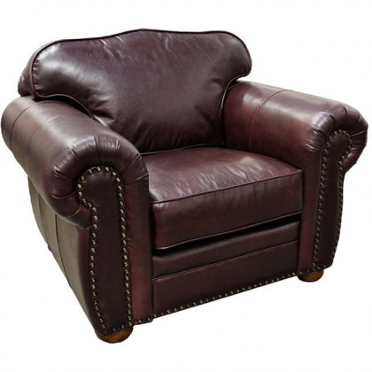 Monte Carlo Leather Chair