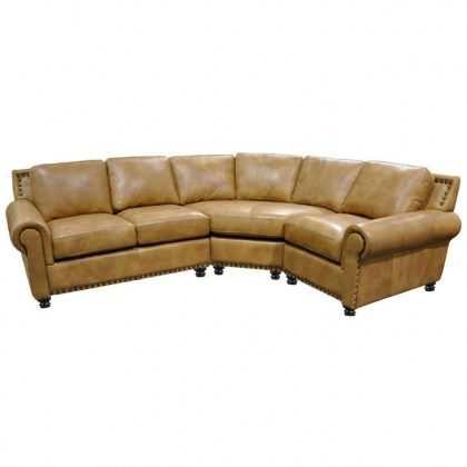 Monterrey Leather Sectional