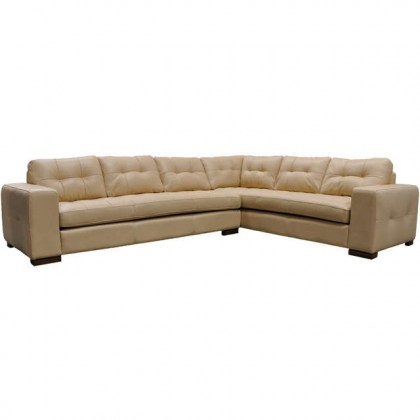 Peninsula Leather Sectional