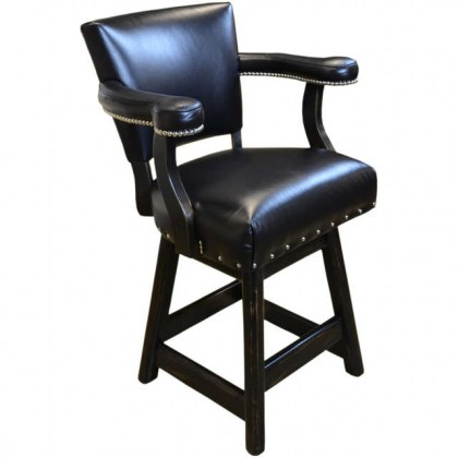 Ranch Leather Bar Stool