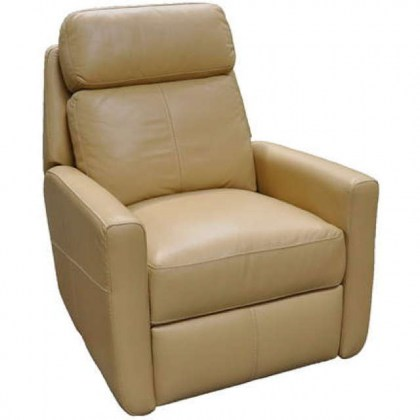 Riverside Drive Leather Swivel Glider Recliner