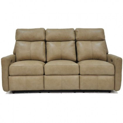 Riverside Drive Leather Reclining Sofa